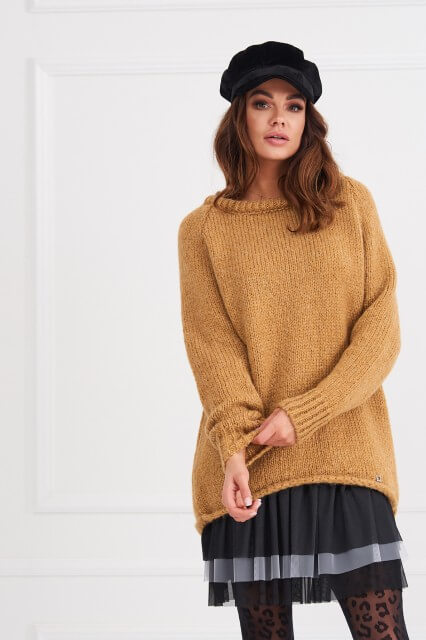 9bf4df7a940 Click to enlarge. HomeShopDresses CARMEL Long Sleeve Jumper/Tunic One size